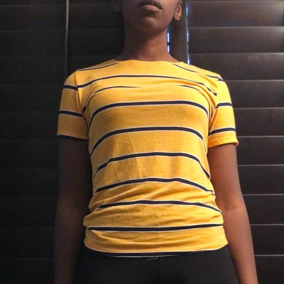 Zara Tops - Yellow Zara Shirt Size Medium